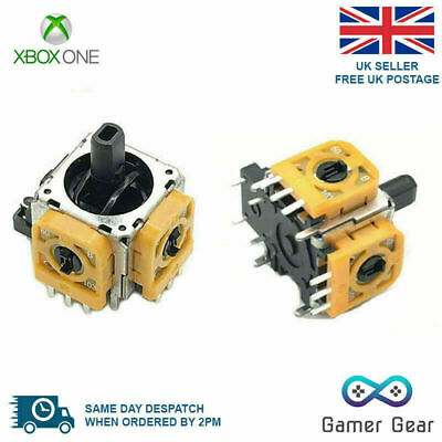 2 x XBOX One Controller 3D Analog Joystick Rocker Replacement - New design!