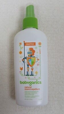 babyganics Essential Oil Natural Insect Repellent (6 fl.oz./177 ml.) Exp. 1/2019