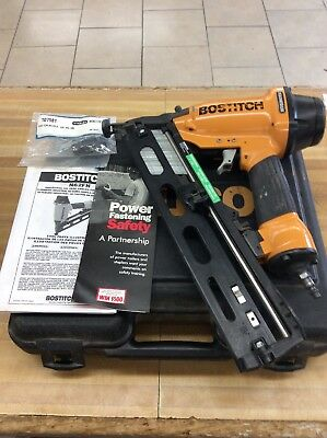 Bostich N62FN Angled Finish Nailer