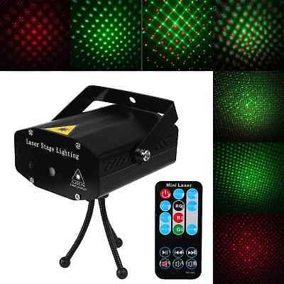 Mini R&GLED Laser Projector Stage Light DJ Disco Home Party KTV Club Light Decor