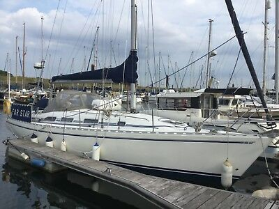 Sadler Starlight 35 1992, shoal draft wing keel, 3 owners from new.