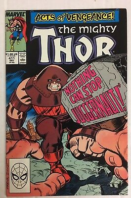 The Mighty Thor #411 (1989) VF/NM Condition  New Warriors