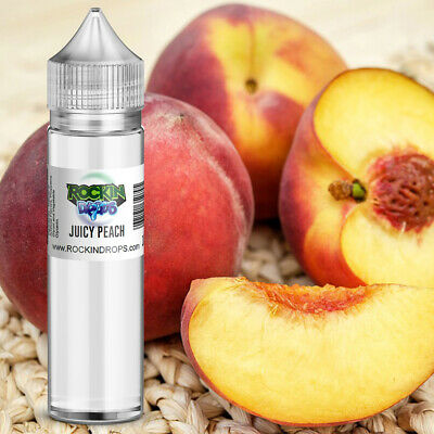 ROCKINDROPS Juicy Peach Food Flavor Flavoring Concentrate TFA 10ml 30ml 50ml