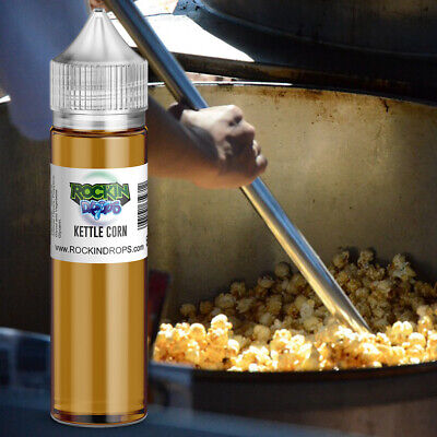 ROCKINDROPS Kettle Corn Food Flavor Flavoring Concentrate TFA 10ml 30ml 50ml