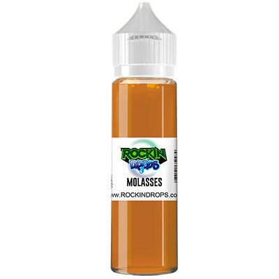 ROCKINDROPS Molasses Food Flavor Flavoring Concentrate TFA 10ml 30ml 50ml