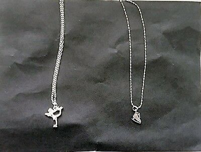 8 Ice Skating Necklaces - Great Gift- Party Bag Filler BRAND NEW