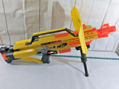 Nerf N-strike Stampede ECS With Clip, Modulus Bipod & Shield Works Great!!