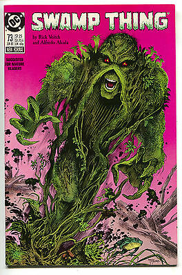 Swamp Thing 73 DC 1988 NM Rick Veitch John Constantine
