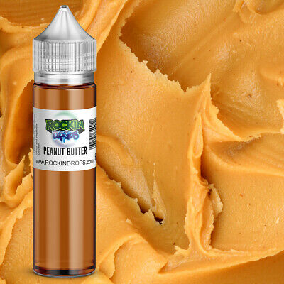 ROCKINDROPS Peanut Butter Food Flavor Flavoring Concentrate TFA 10ml 30ml 50ml