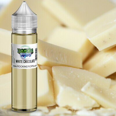 ROCKINDROPS White Chocolate Food Flavor Flavoring Concentrate TFA 10ml 30ml 50ml