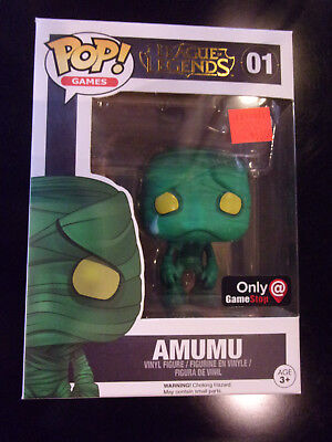 Funko Pop! Games: League Of Legends - Amumu #01 GameStop Exclusive Unopened