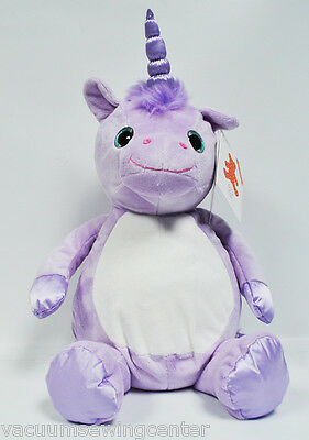 Eb Sticken Violette Unicorn 40.6cm Stickereien Plüschtier