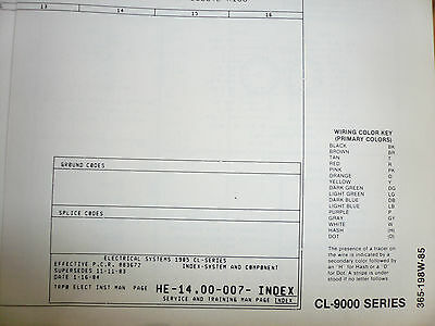 1985 FORD CL9000 Wiring Diagrams - $7.35   PicClick  Ford Wiring Diagram on 85 ford alternator diagram, 86 ford wiring diagram, ignition switch wiring diagram, 85 ford ignition wiring, mercury 850 wiring diagram,