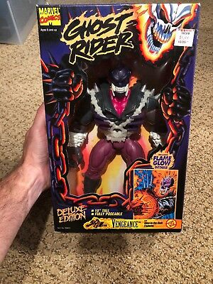 """Vengeance 10"""" Deluxe Edition Marvel Ghost Rider Series Toy Biz 1995 New"""