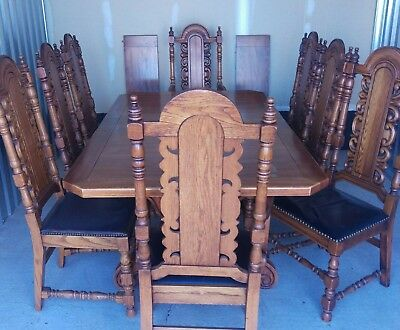 Vintage Link-taylor Table & 8, Chairs