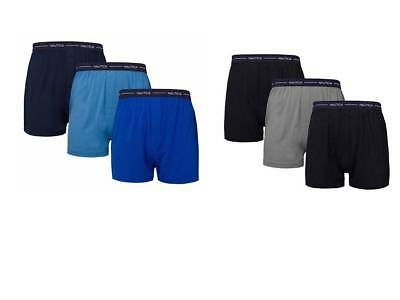 Nautica Mens Boxer Modal Cotton Fit Boxer with Functional Fly Tagless 3 Pack