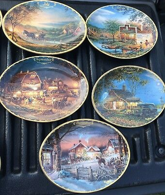 TERRY REDLIN ONE Plate 1999 SEASONS TO REMEMBER Bradford Exchange MAY June JULY