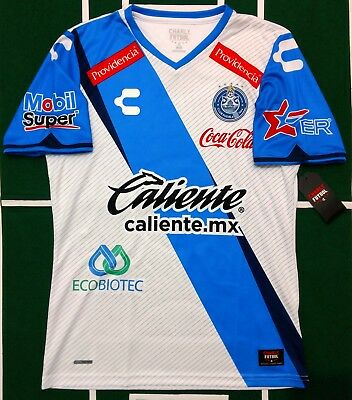 Charly Club Puebla Jersey Local home 2017 Short Sleeve Authentic 5018112 Nwt 2bf25204eec0c