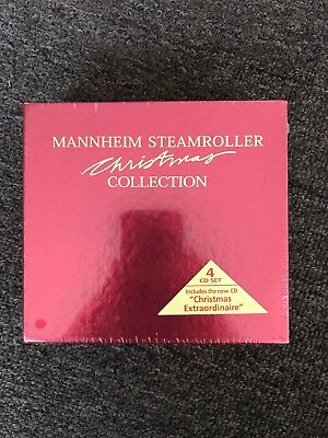 Christmas Collection [Box] by Mannheim Steamroller (CD, Aug-2005, 4 Discs,...