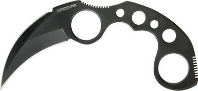 "United Undercover Karambit Black finish 6 1/2"" overall 2 3/4"" blade One piece st"