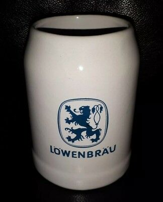 Rare Collectable Lowenbrau Beer Mug Tankard In Great Used Condition
