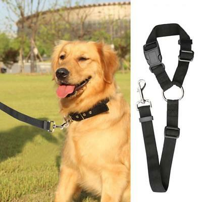 Breathable Air Mesh Puppy Dog Car Harness/Seat belt Clip Lead For Dogs BS
