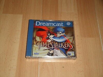 Time Stalkers By Climax Entertainment Rpg For Sega Dreamcast New Factory Sealed