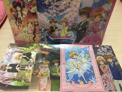 CLAMP CARDCAPTOR SAKURA clear file folder set of 7 (anime)