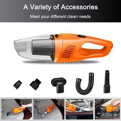 120W Car Cleaner Powerful Suction Portable Handheld Cleaner Use in Car with A7U1