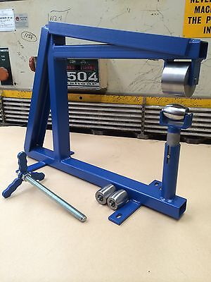 Bench/Vice English Wheel With Anvils, Complete Setup, Wheeling Machine