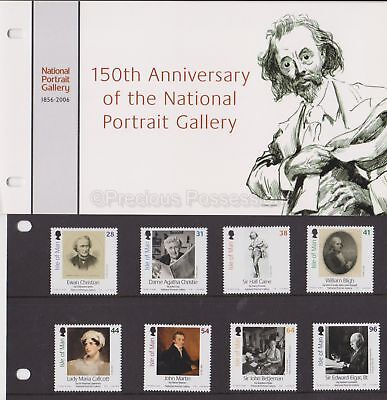ISLE OF MAN Presentation Pack 2006 National Portrait Gallery Set 10% off any 5+