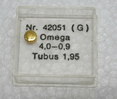 NOS Original Omega Krone  4,0-0.9 Double NEW OLD STOCK