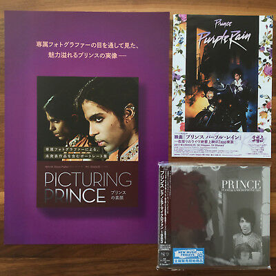 Japan Digi-Sleeve Cd With Obi + Promo Flyers! Prince Piano & A Microphone 1983