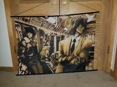 Cowboy Bebop Tapestry Wall Scroll 42x30
