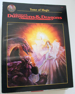 """Advanced Dungeons and Dragons - """"Tome of Magic"""""""
