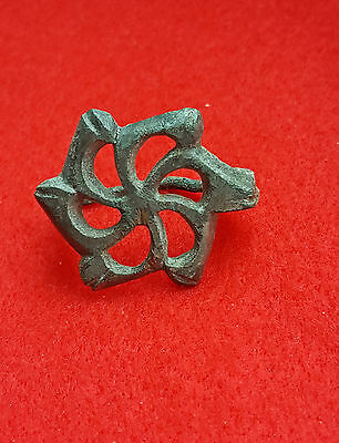 P26:  Magnificent  AUTHENTIC  ANCIENT ROMAN  FIBULA -BROOCH   2-3c. AD