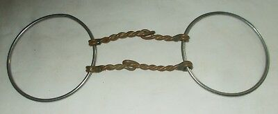 Antique or Vintage Horse Bit Twisted Metal Iron Primitive Western Decor