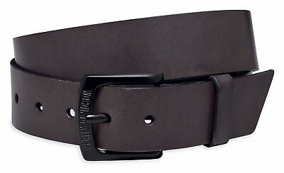 OEM Harley-Davidson Mens WILLIE G Matte Black Label LEATHER BELT Size-34 Genuine