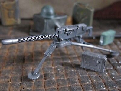 WWII US Army MG Cal 30mm Dreibein RC Panzer Tank US Army Metal Kit Zubehör 1/16