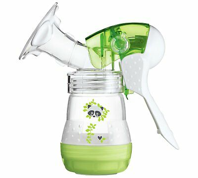 MAM Manual Breast Pump Easy Start Anti-Colic/Bottle/Nursing/Feeding/Baby/NEW