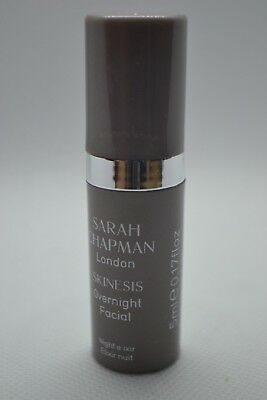 Sarah Chapman London Skinesis Overnight Facial night elixir travel size 5ml pump
