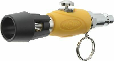 Astro Tools 1746 High Flow Blow Gun with 5 Piece Quick Disconnect Attachments