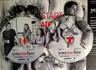 You Me Her Greg Poehler 6 Episodes Season Two 2017 Audience FYC EMMY Award 2 DVD