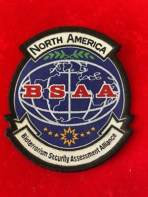 Resident Evil North America BSAA Logo Patch * New/Unused*