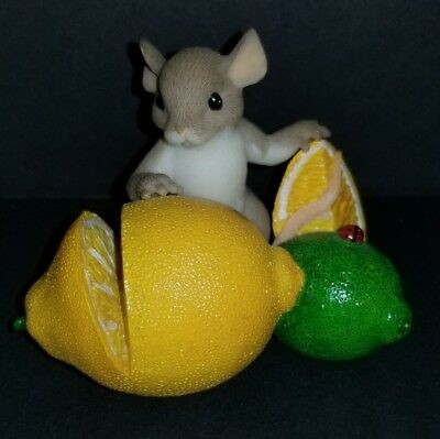 """Charming Tails """" YOU'RE MY MAIN SQUEEZE"""" LEMON LIME  EXCELLENT CONDITION"""