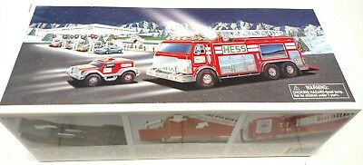 New In Box 2005 Hess Emergency Truck With Rescue Vehicle New Never Opened