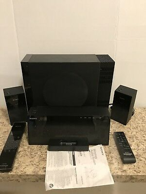 Sony AIR-SW10TI iPod Dock Station DAB/FM Tuner + Wireless Subwoofer, Speakers