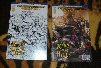 RARE Transformers: Generations #9 RETAILER INCENTIVE COVER A King of the Hill!