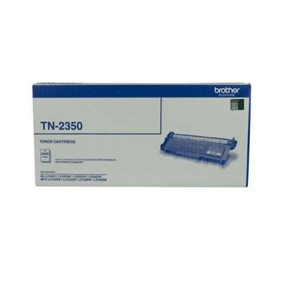 Brother TN-2350 Genuine Toner 2,600 Pages - Black