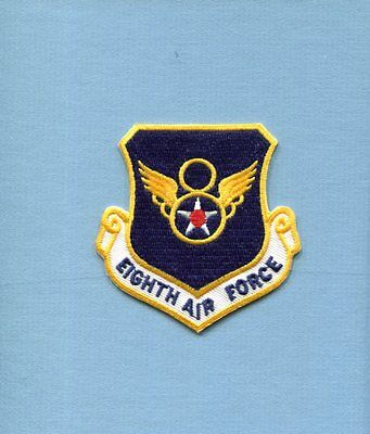 8th AIR FORCE USAF SQUADRON COMMAND Jacket Hat Patch